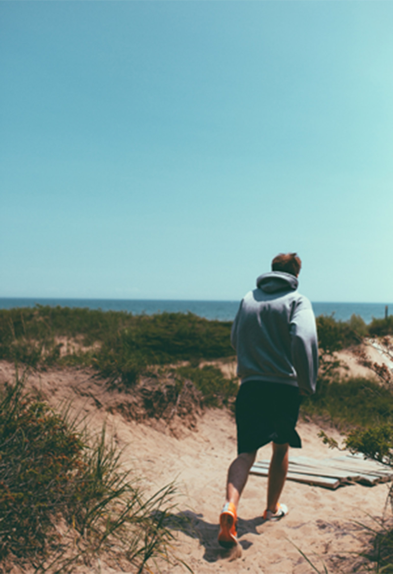 running beach