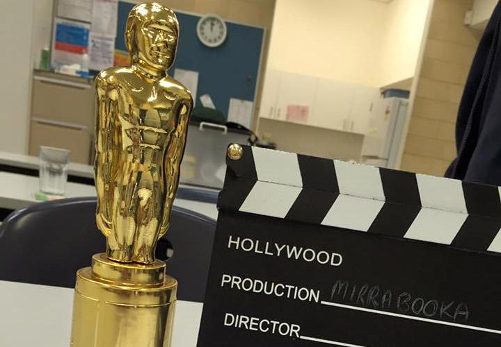 Oscar and Clapper Board