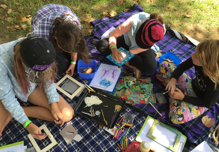 Red Ginger Art Holiday Program in the Park Perth Carine