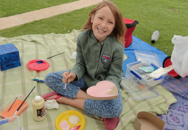 Red Ginger Art Program in the Park Perth Carine